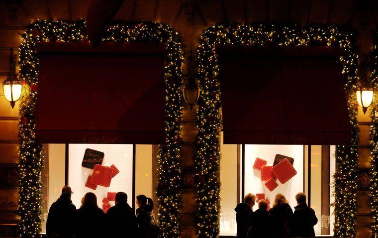 In New York ist das Bummeln ein echten Erlebnis. Zu Weihnachten sind die Schaufenster besonders schön dekoriert.