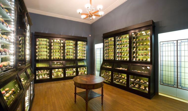 Kernstück des Museo della Frutta ist eine Sammlung von mehr als 1000 künstlichen Früchten.