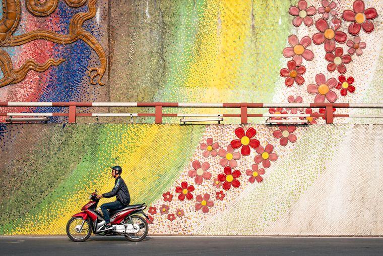 Das beste Einzelfoto in der Kategorie Reise-Portfolio hat Paul Sansome aus Großbritannien gemacht. Es entstand im vietnamesischen Vietnam.