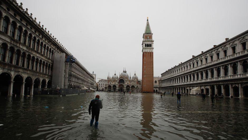 Wie nah die Bedrohung des Klimawandels auch für uns ist, verdeutlichte zuletzt die Rekord-Flut in Venedig Mitte November. Wird das bald der Normalzustand sein?