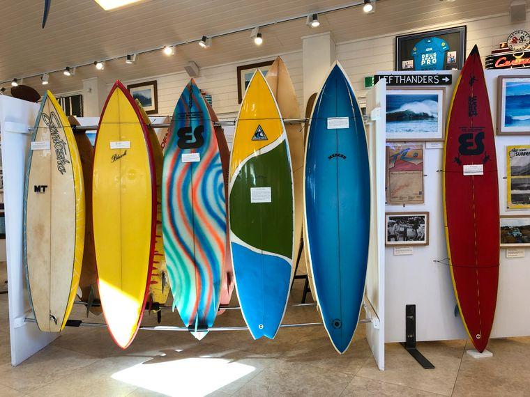 Das Weingut Aravina Estate in der Margaret River Region bietet nicht nur Gutes für Genießer. Auf dem Gelände gibt es auch ein Museum, das dem Surfen gewidmet ist.