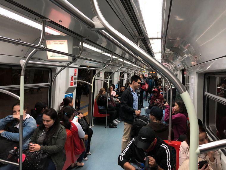 Die U-Bahnen in São Paulo sind modern, sauber und sicher. Außerdem fährt die Linie 4 ohne Zugführer über die Gleise.