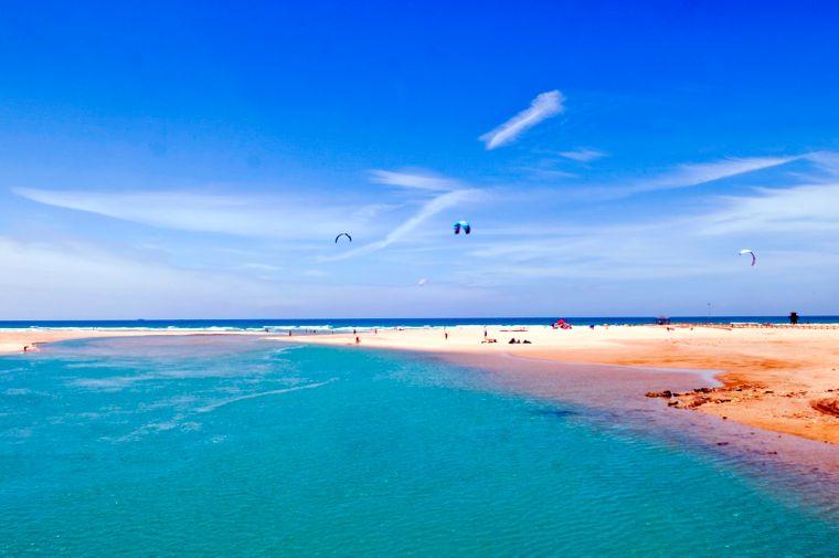 Einige der schönsten Strände Spaniens liegen an der Costa de la Luz an der südlichen Atlantik-Küste.