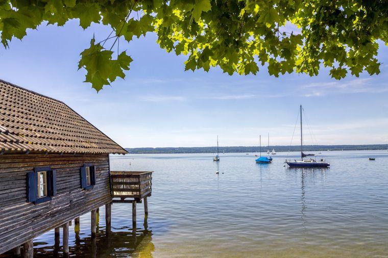 Der Ammersee ist als Bayerns drittgrößter See ein sehr beliebtes Ausflugsziel.
