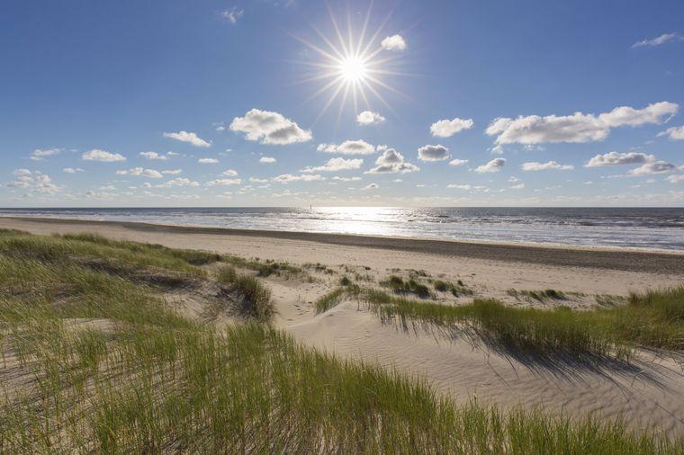 Strand auf Texel.