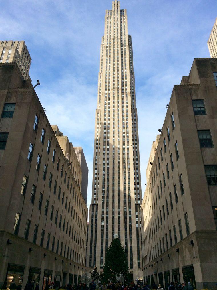 DER Baum am Rockefeller Center – Christmas-Epizentrum von Manhattan.