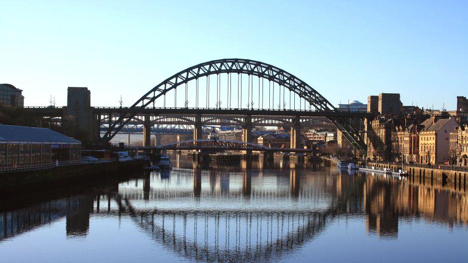 Brücke über die Tyne in Newcastle