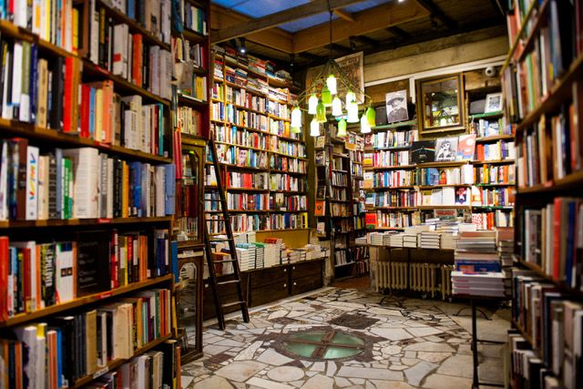 Buchhandlung Shakespeare and Company in Paris.