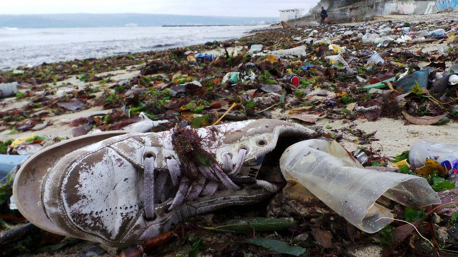 Überall auf der Welt wird Müll an den Küsten angespült.
