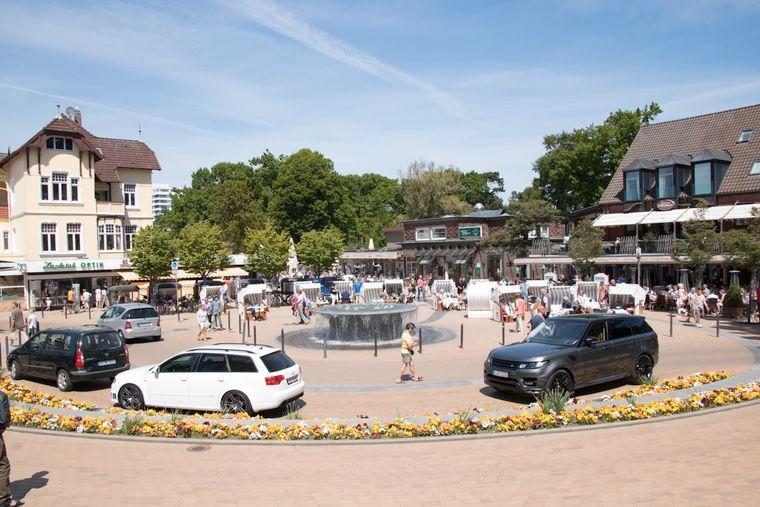 Flanieren im Zentrum gehört in Timmendorfer Strand einfach dazu.