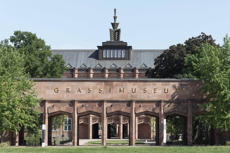 Das Grassimuseum in Leipzig.
