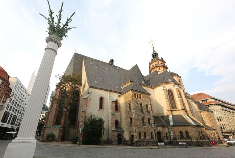 Die Nikolaikirche in Leipzig.