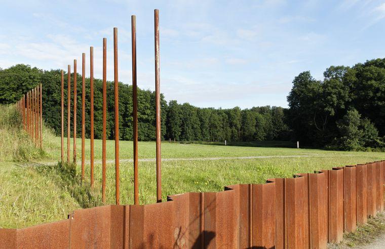 Auf dem Schlachtfeld der Varusschlacht im Osnabrücker Land.