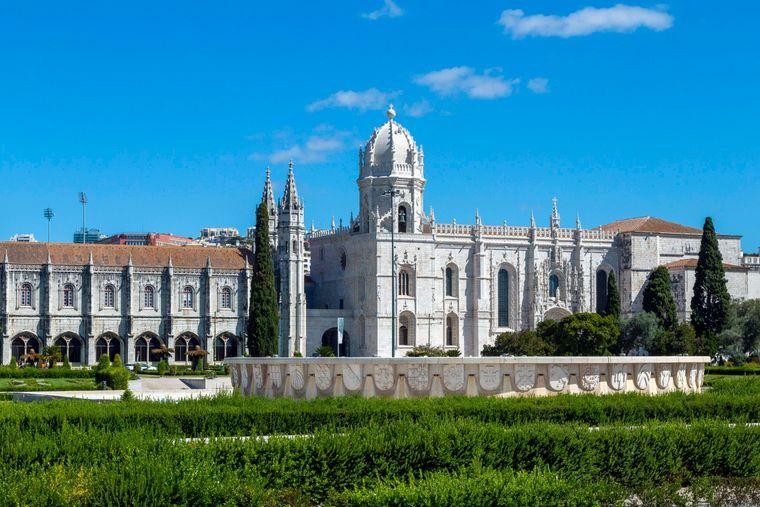 Das Hieronymitenkloster befindet sich im historischen Stadtzentrum von Lissabon.