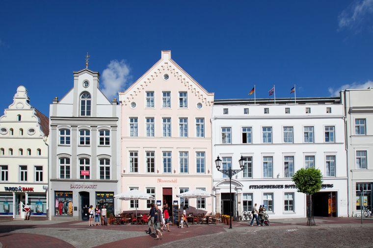 Das Steigenberger Hotel Stadt Hamburg liegt mitten in der Innenstadt.
