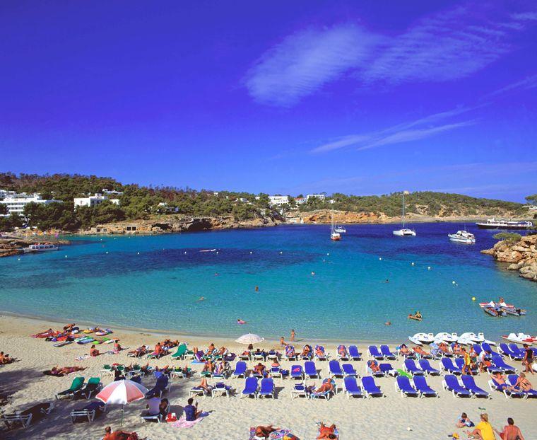 Strand Cala Portinatx, Ibiza