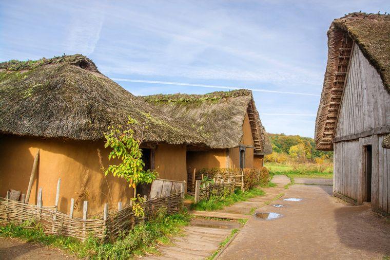 Wikingersiedlung Haithabu in Schleswig-Holstein.