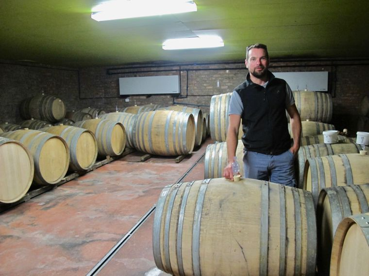 Welcher Wein darf es sein? Eine Beratung vom Profi gibt es in Lammershoek.
