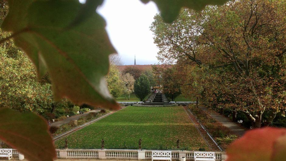 Der Körnerpark ist eine von vielen grünen Oasen in Berlin.