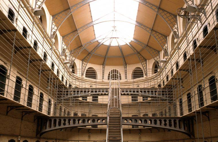 Das Gefängnis Kilmainham Gaol ist aus zahlreichen Filmen bekannt.