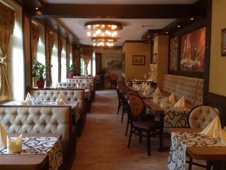 Gemütliche Atmosphäre im Restaurant Olymp.