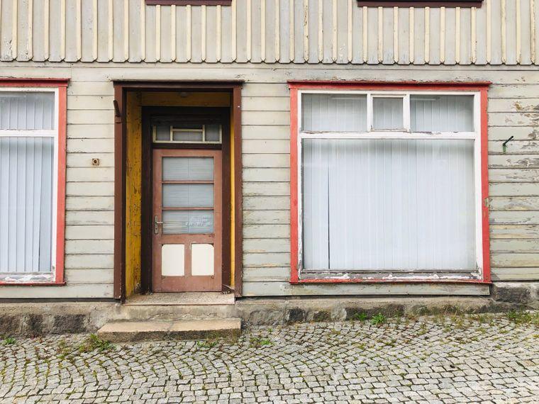 Diese ehemalige Geschäft in Schierke hat schon länger keine Kundschaft mehr gesehen.
