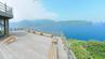 Ein Golden Retriever verfolgt auf der Insel Jukdo einen Fotografen.