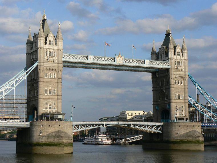 Tower Bridge, London, Großbritannien.