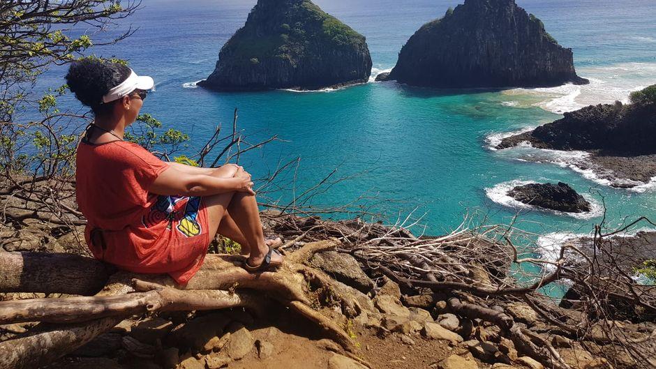 Perfekter Ort für eine Pause auf Fernando de Noronha.