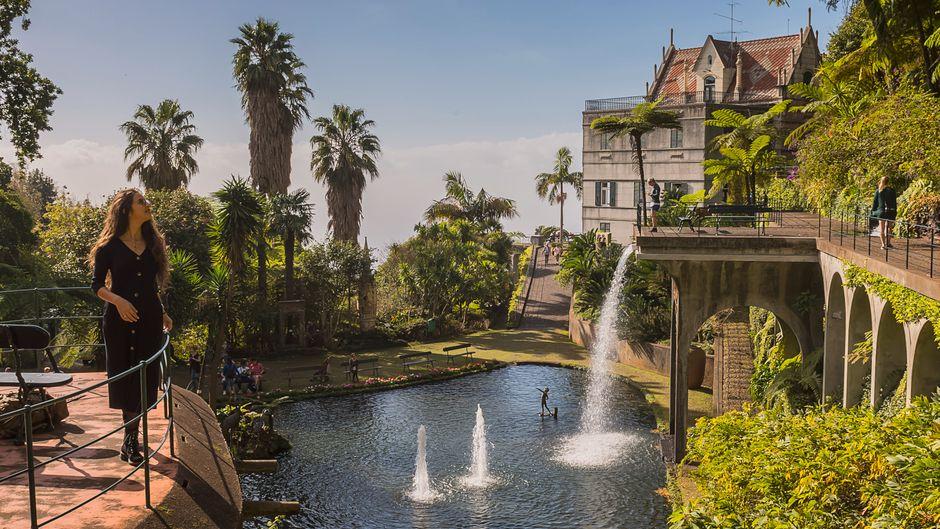 In den tropischen Monte-Palace-Gärten gibt es nicht nur viele Pflanzen, sondern auch jede Menge Kunst – und das Monte-Palace-Madeira-Museum.