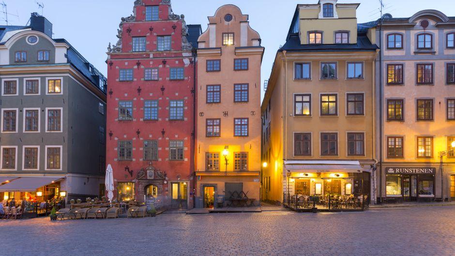 Die Innenstadt von Stockholm hat Reisenden viel zu bieten.