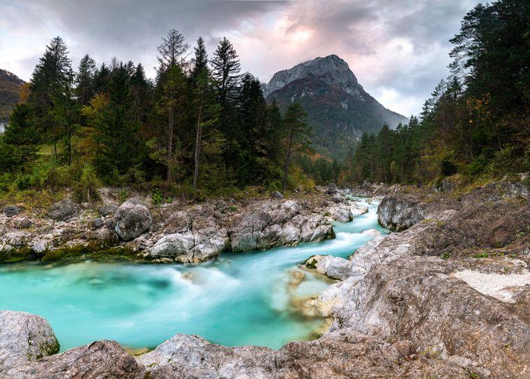 Der wunderschöne Triglav-Nationalpark in Slowenien.
