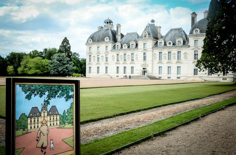 """Château de Cheverny bei Blois hat Comiczeichner Hergé für seine """"Tim und Struppi""""-Comics zu Schloss Mühlenhof inspiriert."""