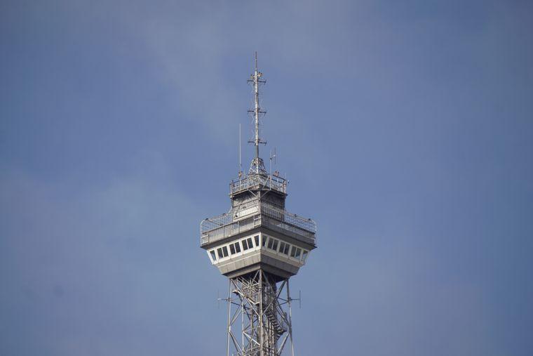 Der Funkturm auf dem Gelände des Internationalen Congress Centrums galt bis zur Wiedervereinigung als Wahrzeichen Westberlins.