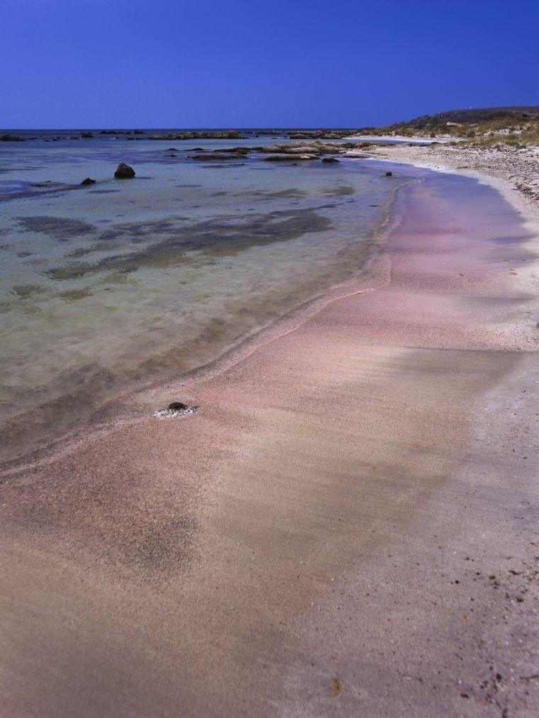 Strand Elafonissi in Griechenland