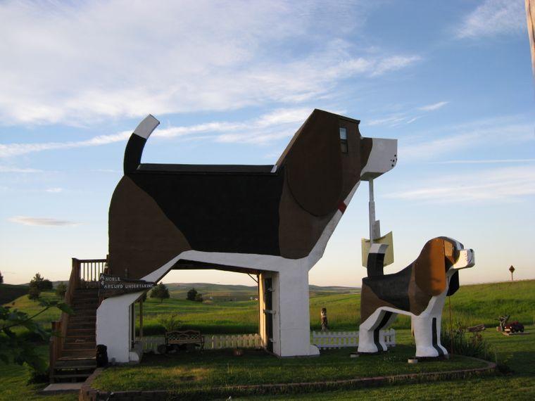Hunde-Themen-Hotel in Idaho, USA.