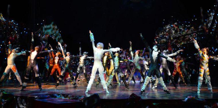 Das Assemble zeigt beeindruckende Choreographien