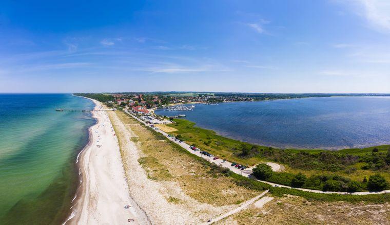 Genug Platz: Am sechs Kilometer langen Strand von Rerik kannst du dich austoben.