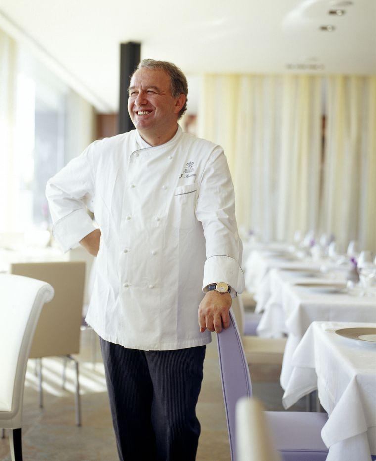 Joachim Koerper ist Chefkoch im Restaurant Eleven in Lissabon.