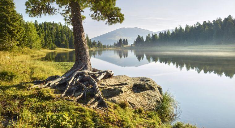 Der wunderschöne Schwarzsee.