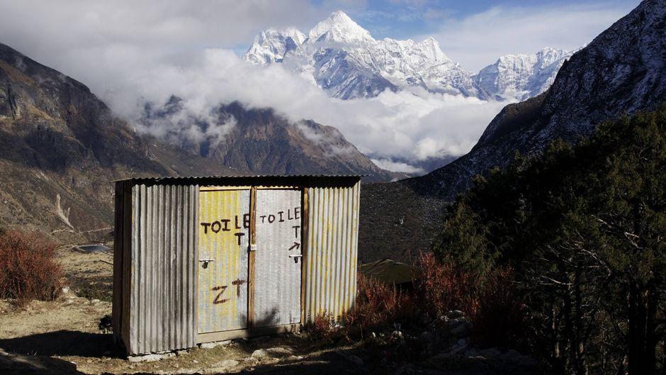 Eine Toilette auf 3.800 Metern in Nepal