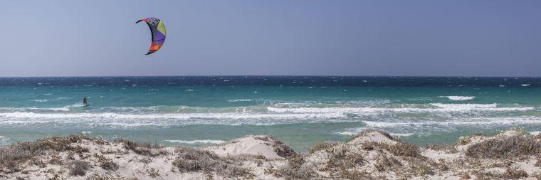 Der Kohilari Strand auf Kos.