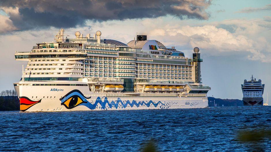 """Auf der """"Aida Prima"""" infizierten sich bis zu 300 Passagiere mit dem Norovirus. (Symbolfoto)"""