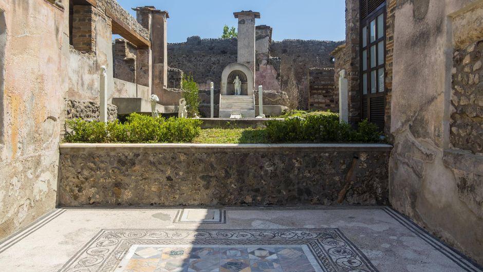 Ausgrabungen von Pompeji in Neapel, Kampanien, Italien.