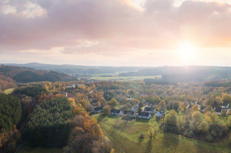 Der Center Parcs Park Eifel liegt mitten in der Natur.