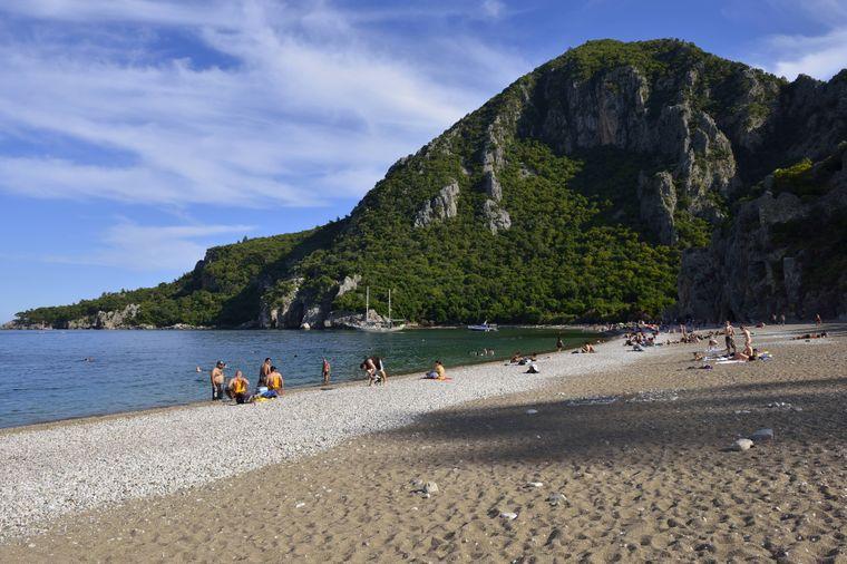 Der Olympos Nationalpark an der Türkischen Riviera gilt eher als Geheimtipp.