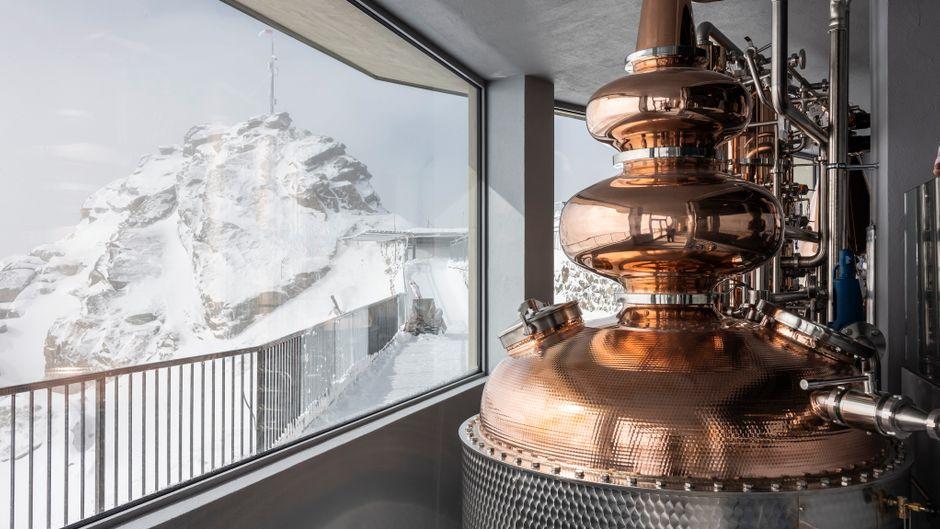 Die ORMA-Destillerie in der Schweiz ist die höchstgelegene der Welt.