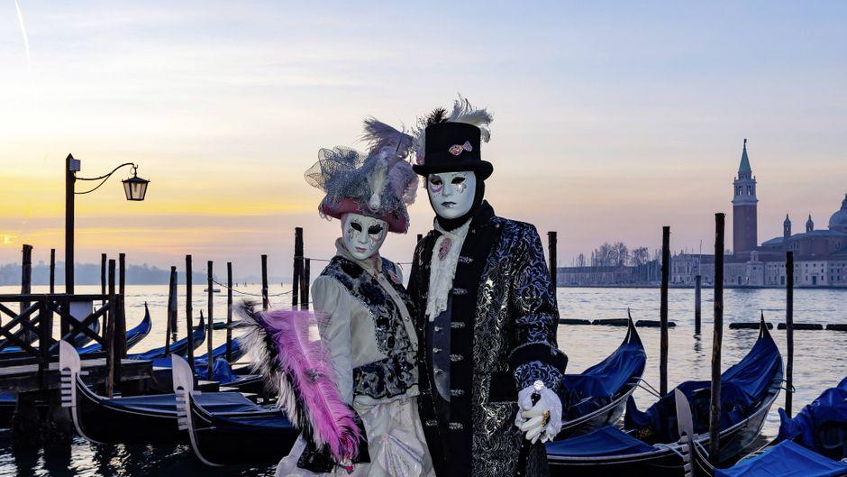 Der berühmte Karneval von Venedig soll 2020 wegen des Coronavirus vorzeitig abgebrochen werden.