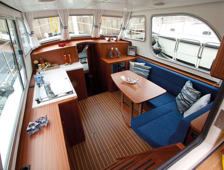 Die Yachtserie TNCS bietet Linssen nach eine Kombination aus Tradition und Nostalgie.