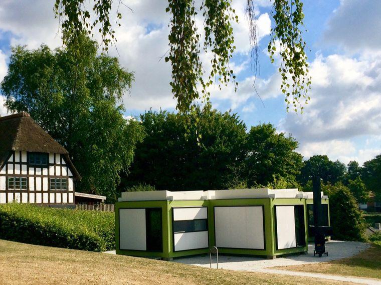 Das Kubeflex-Haus von Arne Jacobsen.